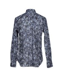Paul Smith - Blue Western Style Shirt for Men - Lyst