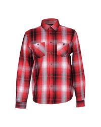 Stussy   Red Shirt for Men   Lyst