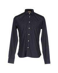 Scotch & Soda | White Dot Print Short Sleeve Shirt for Men | Lyst