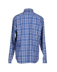 BOSS Green | Blue Shirt for Men | Lyst