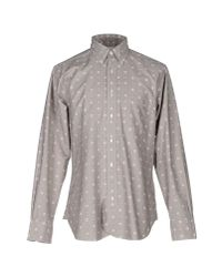 Black Fleece By Brooks Brothers   Gray Shirt for Men   Lyst