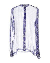 Dries Van Noten - Purple Shirt - Lyst