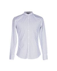 26.7 Twentysixseven - Blue Shirt for Men - Lyst