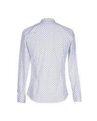26.7 Twentysixseven - Blue Shirt for Men - Lyst