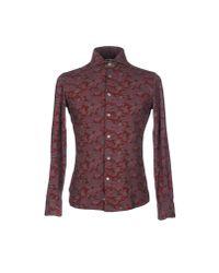 Domenico Tagliente - Purple Shirt for Men - Lyst