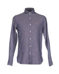 Guglielminotti - Gray Shirt for Men - Lyst