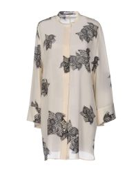 Agnona - White Shirt - Lyst