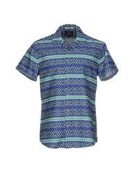 Scotch & Soda - Blue Shirt for Men - Lyst