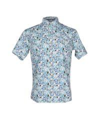 Anerkjendt | Blue Shirt for Men | Lyst