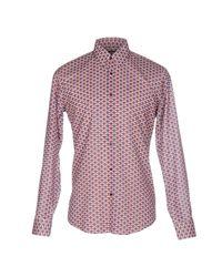 Fendi | Blue Shirt for Men | Lyst