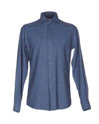 Hamptons | Blue Shirt for Men | Lyst
