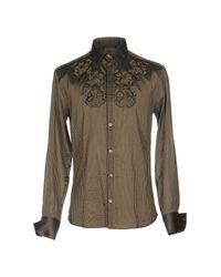 KENZO - Green Shirt for Men - Lyst
