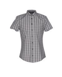 Liu Jo - Gray Shirt for Men - Lyst
