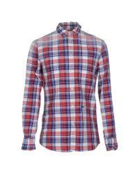 DSquared² - Red Shirt for Men - Lyst