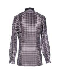 Lanvin - Purple Shirt for Men - Lyst