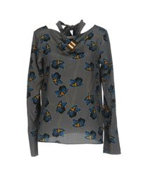 Dorothee Schumacher - Gray Blouse - Lyst