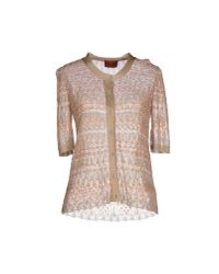Missoni | Natural Cardigan | Lyst