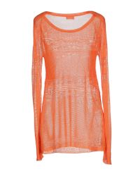 Philosophy di Alberta Ferretti - Orange Sweater - Lyst