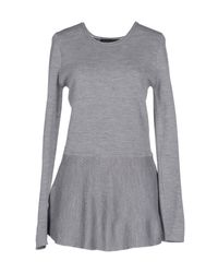 Twin Set - Gray Sweater - Lyst