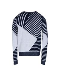 Le Mont St Michel - Blue Sweater for Men - Lyst