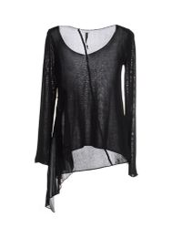 Manila Grace | Black Sweater | Lyst