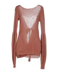 Manila Grace - Brown Jumper - Lyst