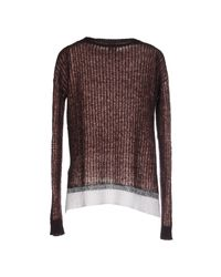 Pinko - Brown Sweater - Lyst