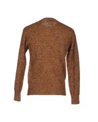 Howlin' By Morrison - Brown Sweater for Men - Lyst