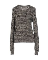 Étoile Isabel Marant - Gray Knitted Sweater - Lyst