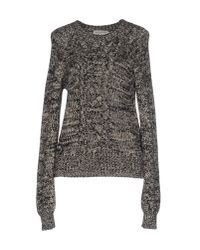 Étoile Isabel Marant | Gray Knitted Sweater | Lyst