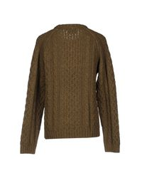 Wesc - Green Sweater - Lyst