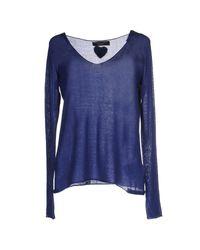 Twin Set - Blue Sweater - Lyst
