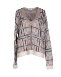 Liu Jo   Brown Sweater   Lyst