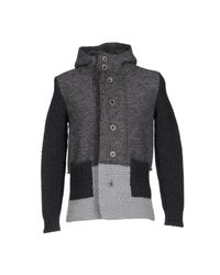 Berna - Gray Jacket for Men - Lyst