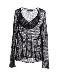 Manila Grace   Black Sweater   Lyst