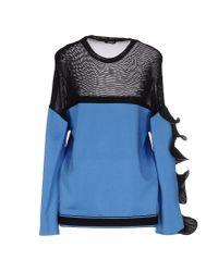 Emanuel Ungaro - Blue Sweater - Lyst