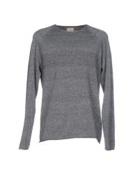 SELECTED - Gray Sweater - Lyst