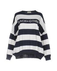 Each x Other - Blue Sweater - Lyst
