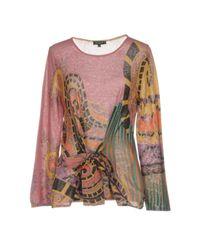 Etro - Pink Sweater - Lyst