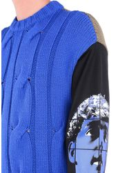 Moschino Couture - Blue Jumper for Men - Lyst