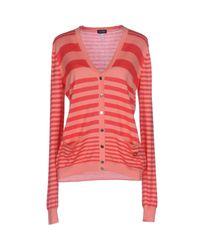 Armani Jeans - Pink Cardigan - Lyst