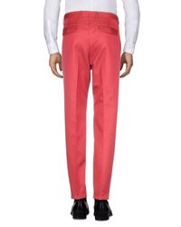 Valentino - Red Casual Trouser for Men - Lyst