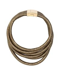 Jolie By Edward Spiers   Metallic Necklace   Lyst