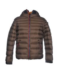 Ai Riders On The Storm - Brown Down Jacket for Men - Lyst