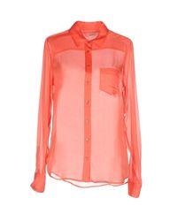 Equipment - Pink Shirt - Lyst