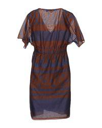 Manila Grace Multicolor Short Dress