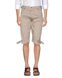 Imperial - Gray Bermudas for Men - Lyst