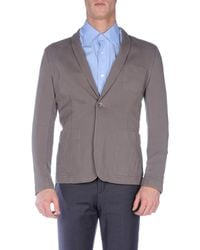 Paolo Pecora - Gray Blazer for Men - Lyst