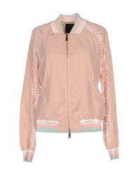 Pinko - Pink Jacket - Lyst