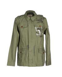 Scotch & Soda - Green Jacket for Men - Lyst